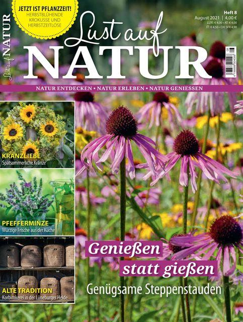 Lust auf Natur Ausgabe 08/2021