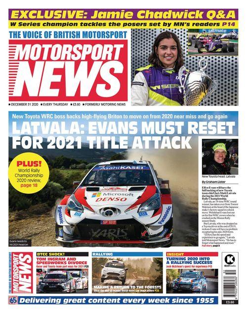 Motorsport News 2020-12-31