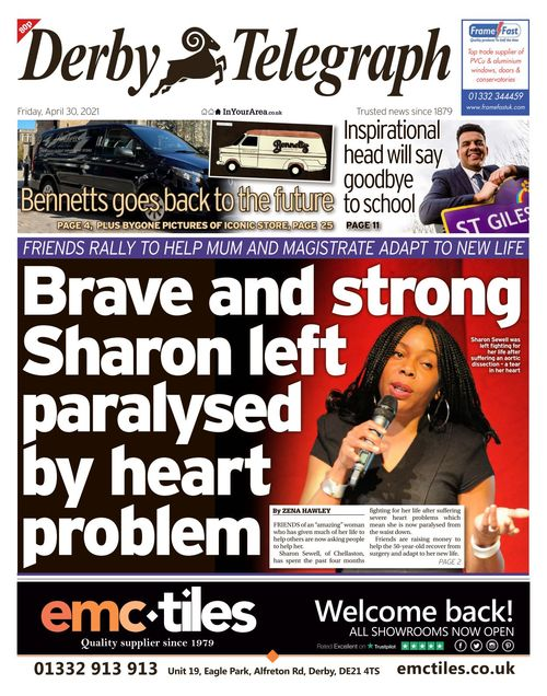 Derby Telegraph 2021-04-30