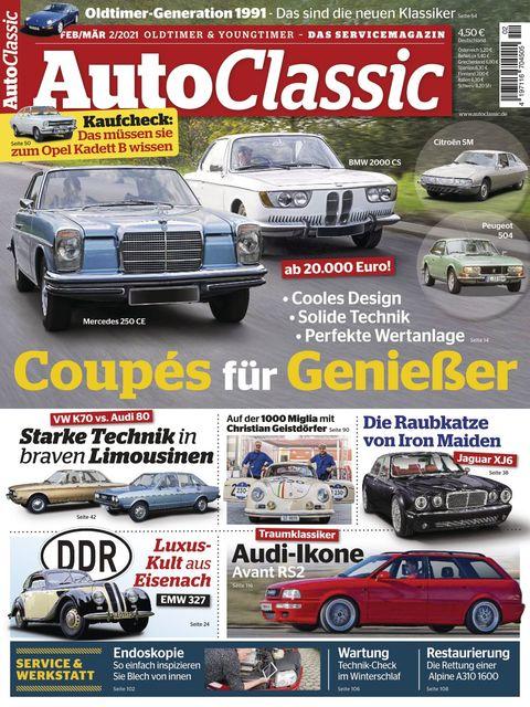 Auto Classic Ausgabe 02/2021