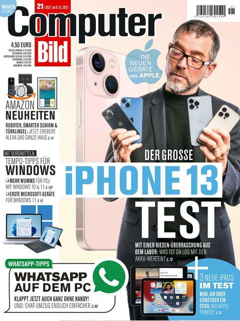 COMPUTER BILD Ausgabe 21/2021
