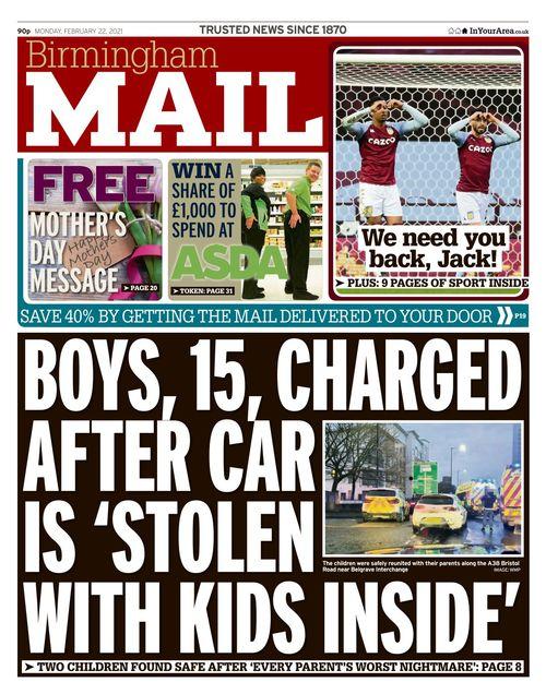 Birmingham Mail 2021-02-22