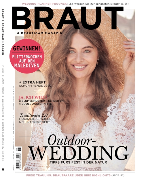 Braut & Bräutigam Ausgabe 01/2020