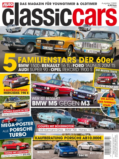 AUTO ZEITUNG classic cars Ausgabe 7/2020