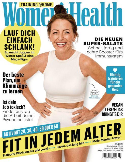 WOMEN'S HEALTH Ausgabe 03/2021