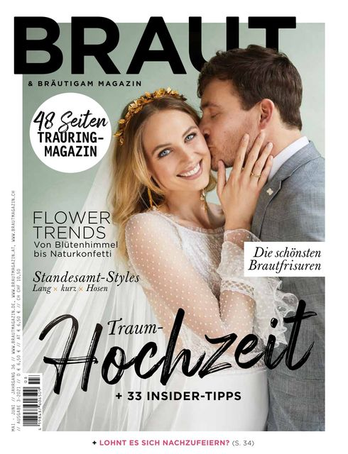 Braut & Bräutigam Ausgabe 03/2021