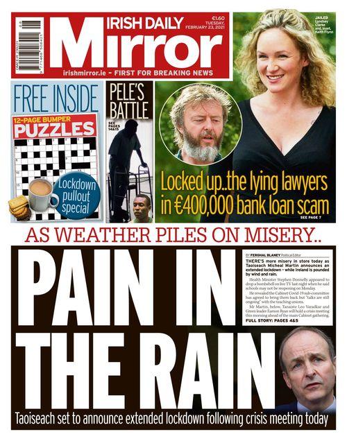 Irish Daily Mirror 2021-02-23