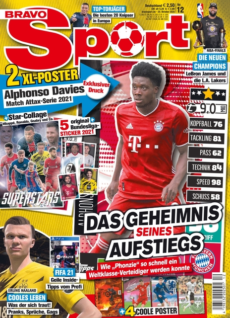 Bravo Sport Ausgabe 12/2020