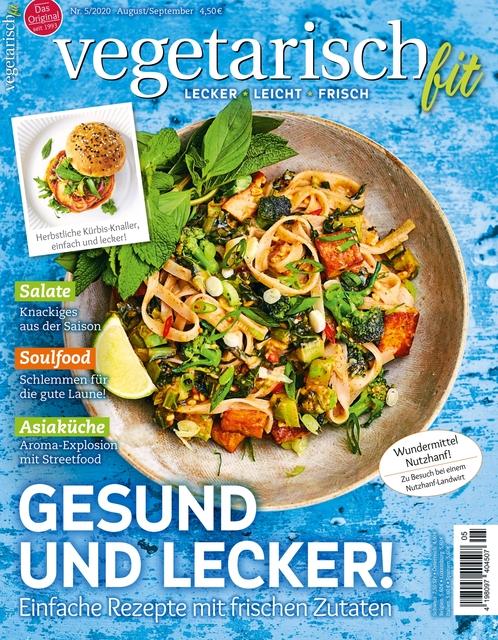 Vegetarisch fit Ausgabe 05/2020