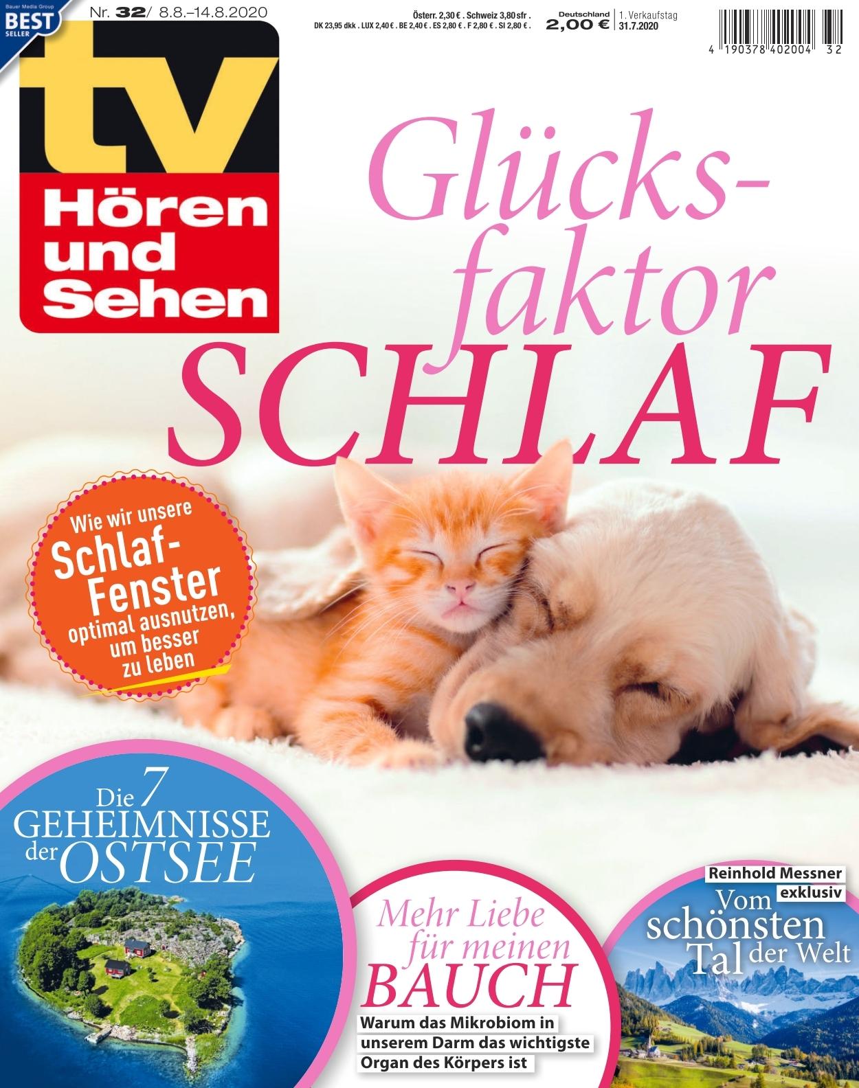 Tv Horen Und Sehen Ausgabe 32 2020