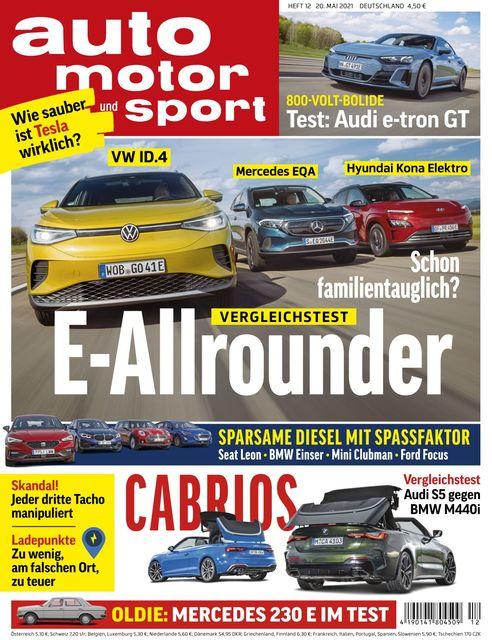 Auto Motor und Sport 2021-05-20
