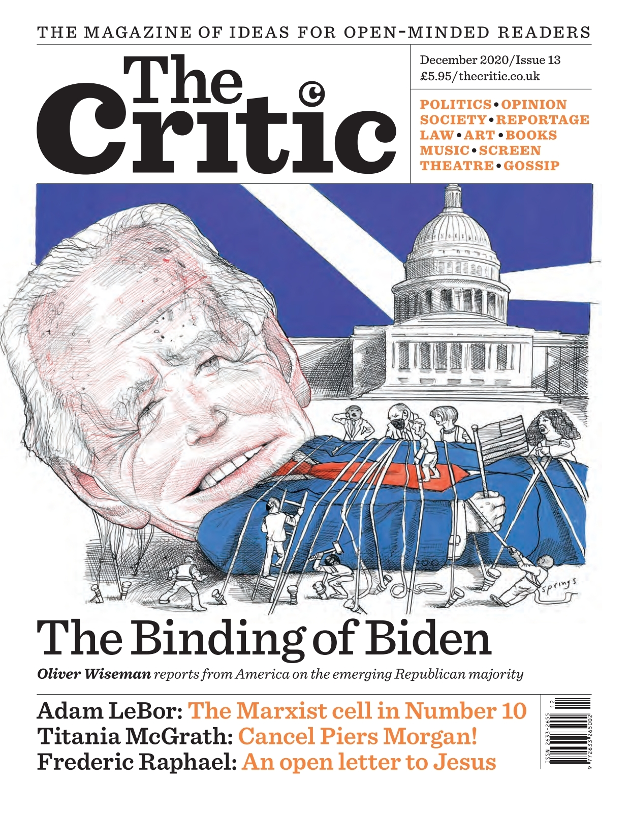 The Critic   issue 20/20