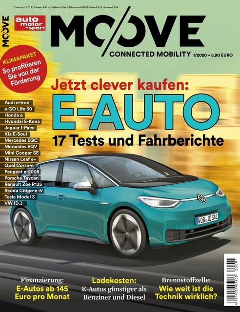 Auto Motor und Sport MOOVE Ausgabe 01/2020