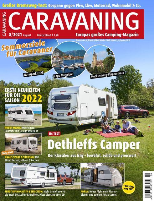 Caravaning Ausgabe 08/2021