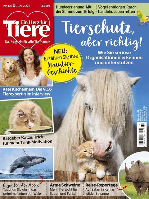 Ein Herz für Tiere Ausgabe 06/2021