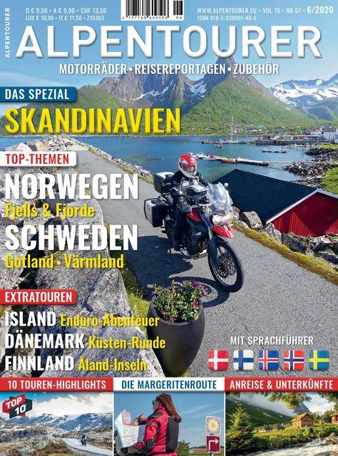 ALPENTOURER – Europas Motorrad-Tourenmagazin Ausgabe 06/2020