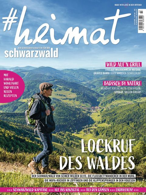 #heimat - der Genussbotschafter für den Schwarzwald Ausgabe 3/2021