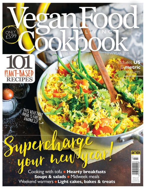 The Vegan Cookbook issue 07, Supercharge Your New Year!