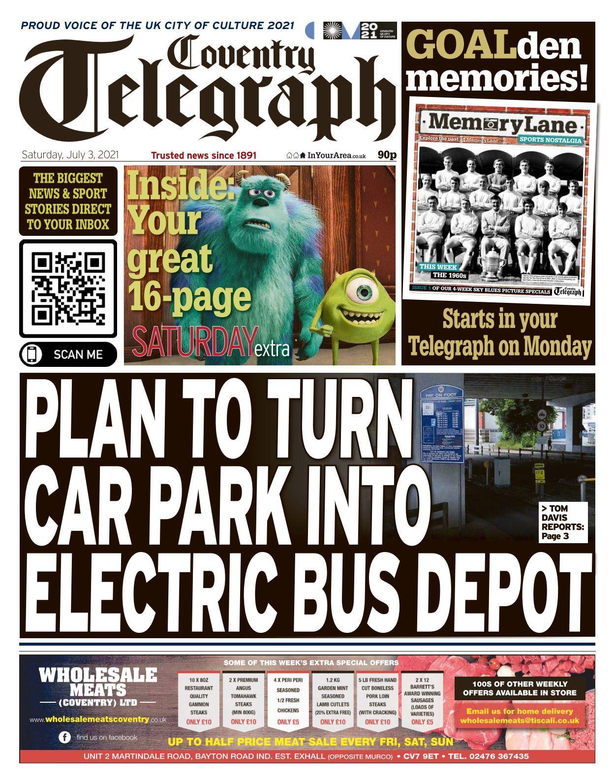 Coventry Telegraph   20 20 20