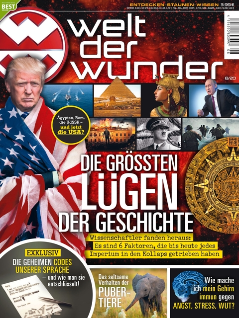 Welt der Wunder Ausgabe 8/2020