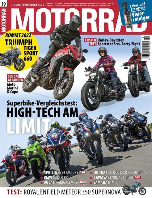 Motorrad Ausgabe 19/2021