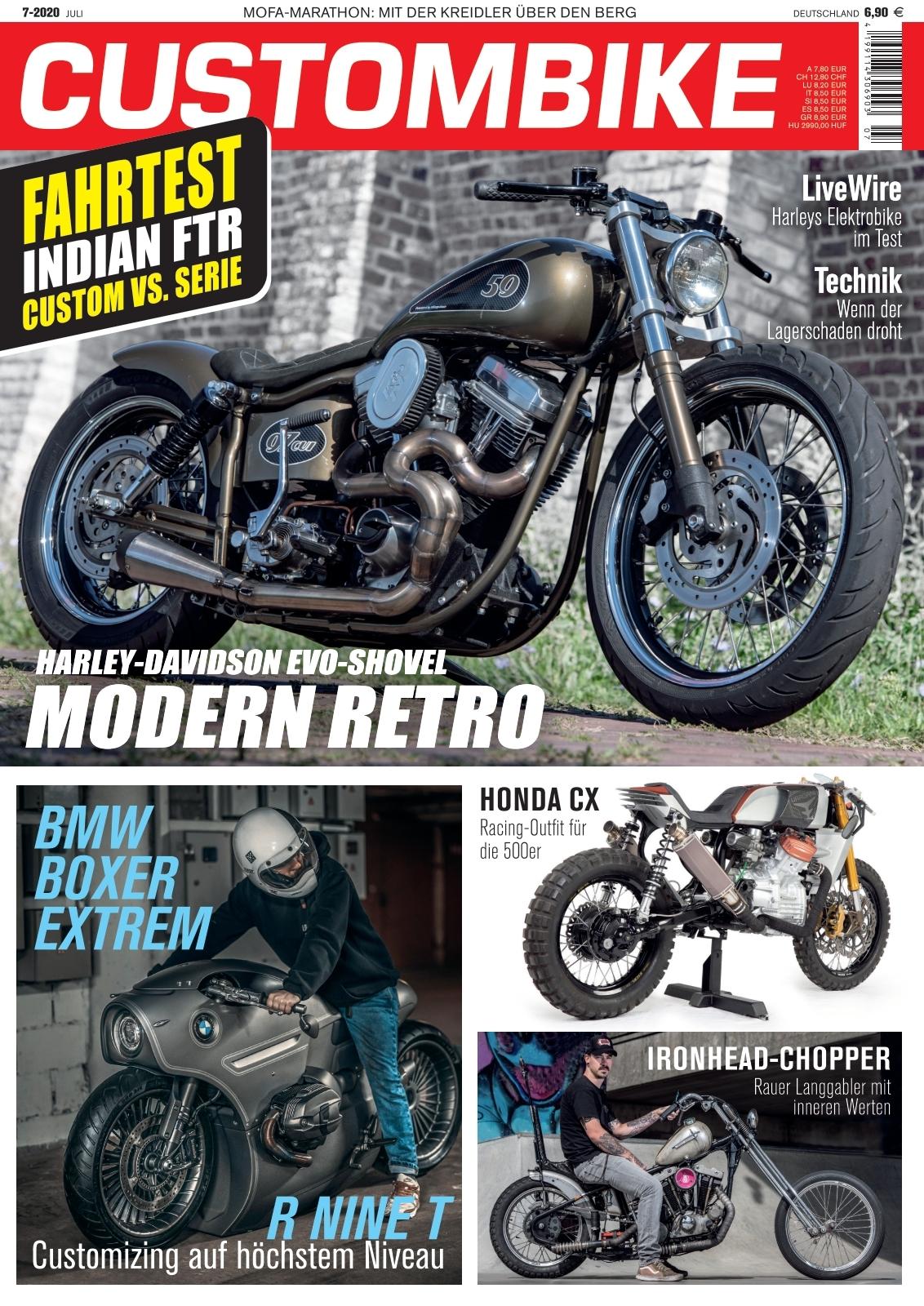 Kennzeichenhalter S//K für Harley Davidson Fatboy Fat Boy ab 2018 langer seitl