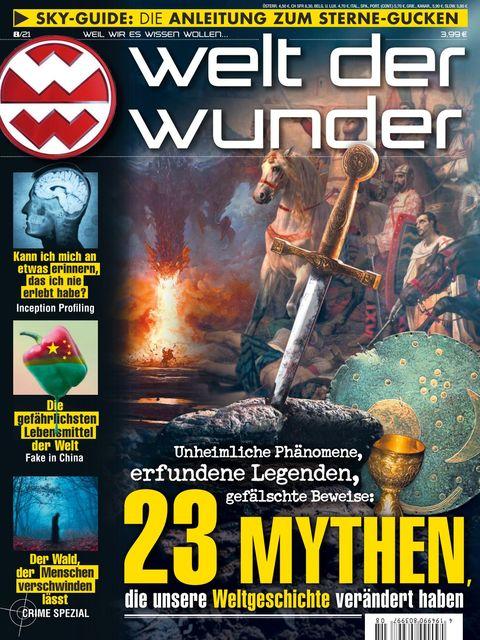 Welt der Wunder Ausgabe 8/2021