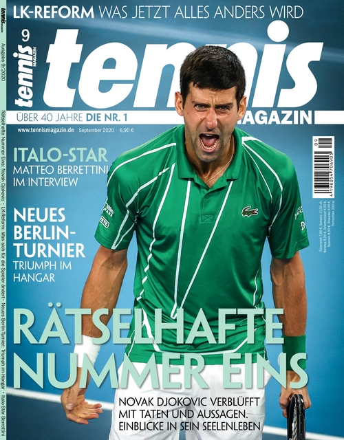 tennis MAGAZIN Ausgabe 09/2020