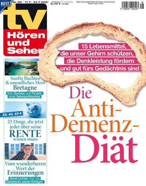 TV Hören und Sehen Ausgabe 28/2021