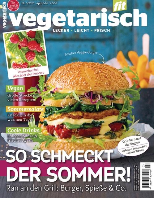 Vegetarisch fit Ausgabe 03/2020