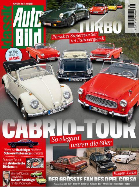 AUTO BILD Klassik Magazin 2021-05-20