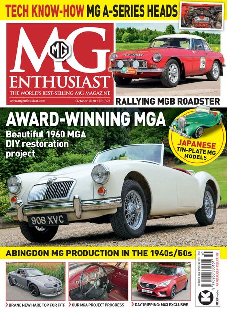 MG Enthusiast issue 10/2020