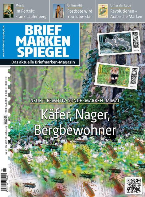 BRIEFMARKEN SPIEGEL Ausgabe BRIEFMARKEN SPIEGEL