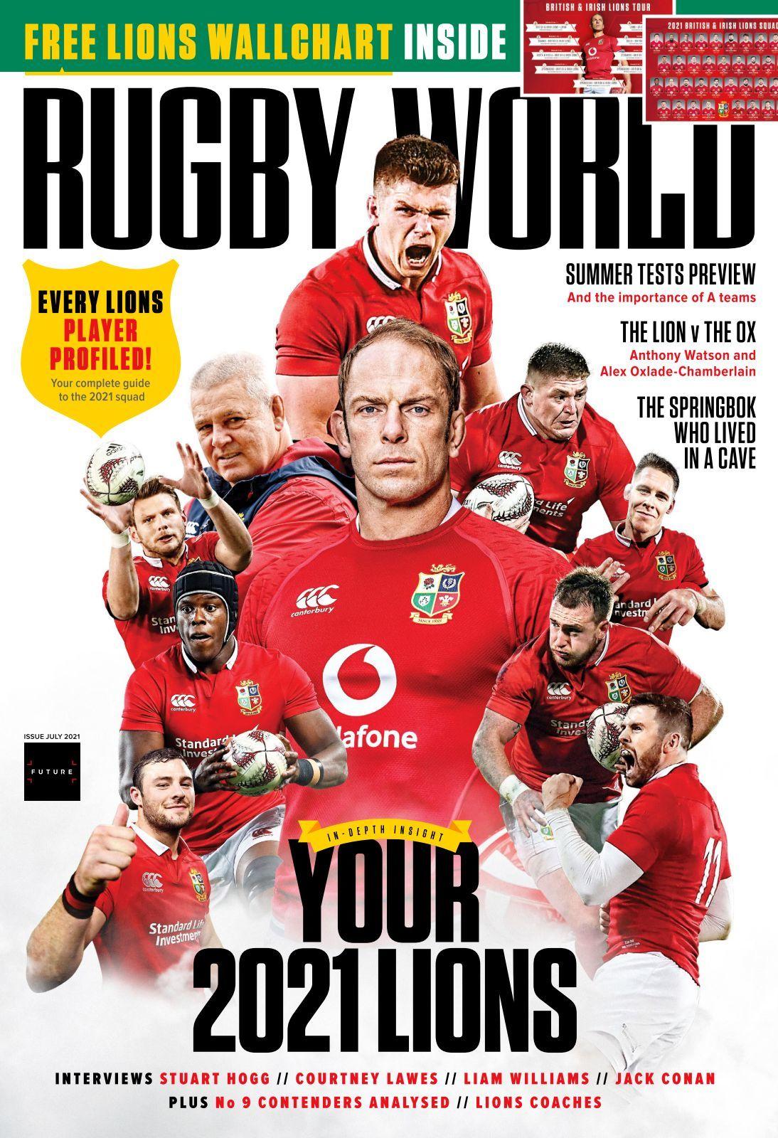 Rugby World Magazine Issue 07 2021