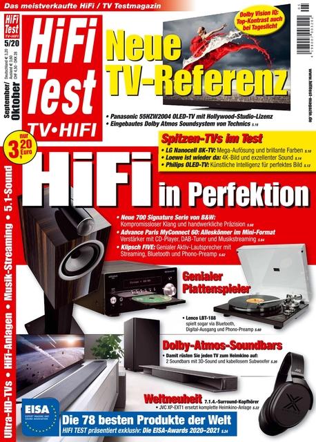 HiFi Test TV • HiFi Ausgabe 05/2020