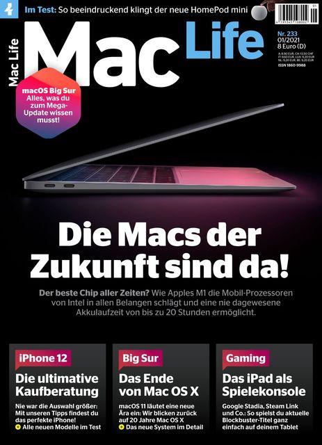 Mac Life Ausgabe 01/2021