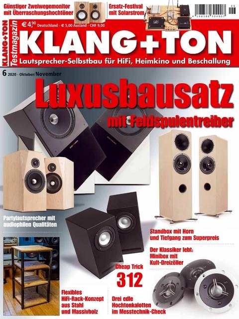 KLANG+TON Ausgabe 06/2020