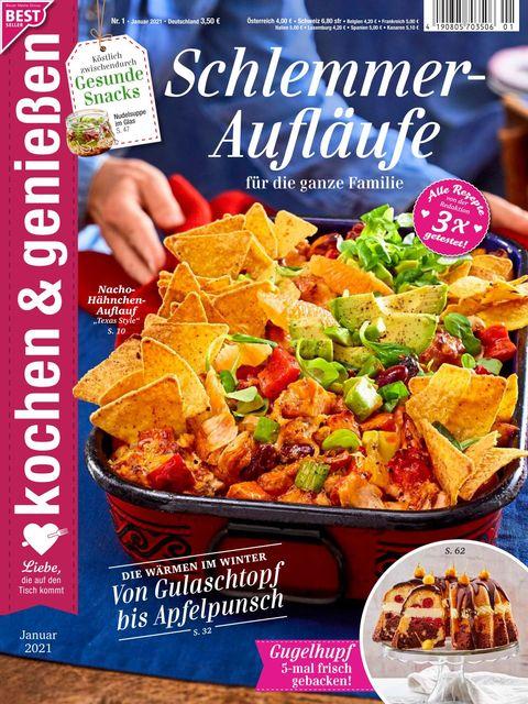 Kochen und Genießen Ausgabe 1/2021