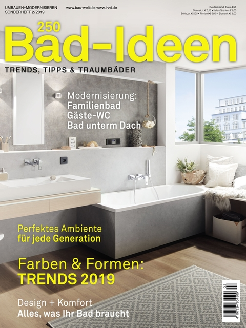 250 Bad-Ideen Magazin Sonderausgabe 02/2019