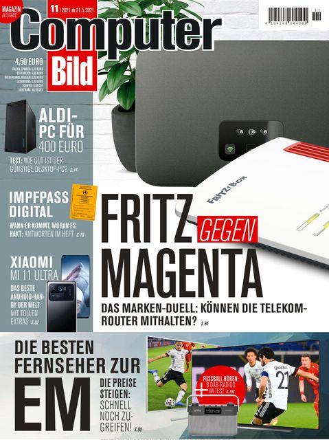 COMPUTER BILD Ausgabe 11/2021