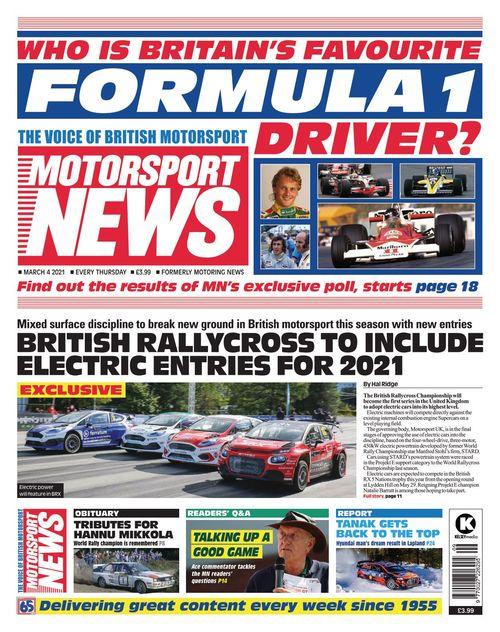 Motorsport News 2021-03-04
