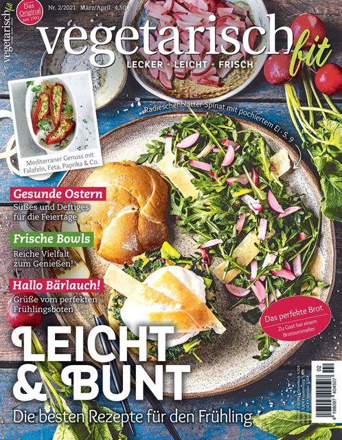 Vegetarisch fit Ausgabe 02/2021