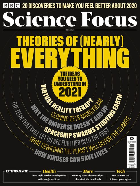 BBC Science Focus issue New Year 2021