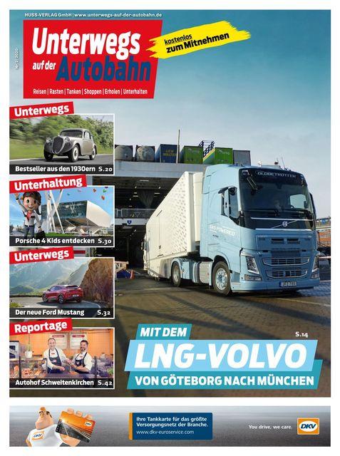 Unterwegs auf der Autobahn Ausgabe 02/2020
