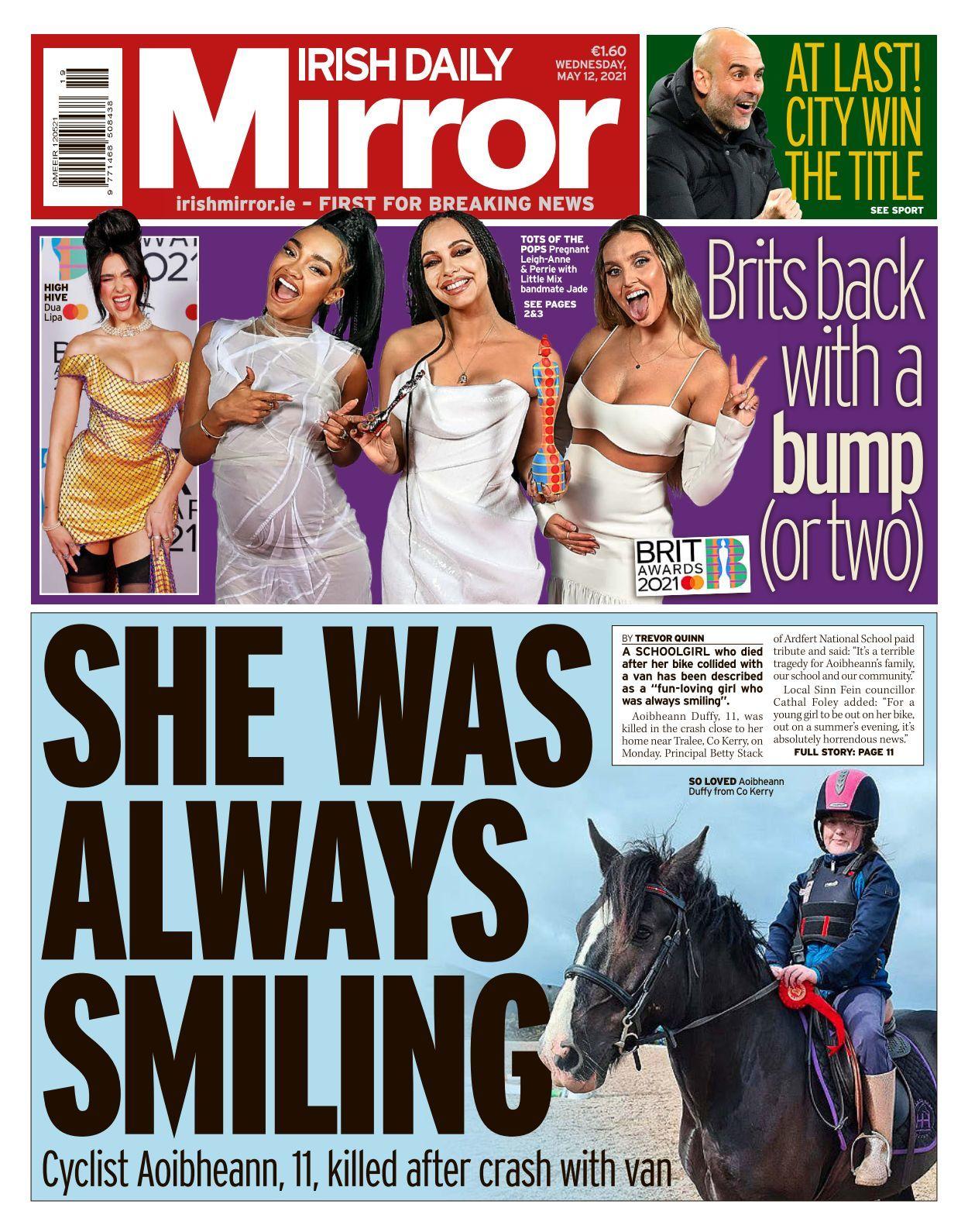 11 Irish Daily Mirror   10 10 10