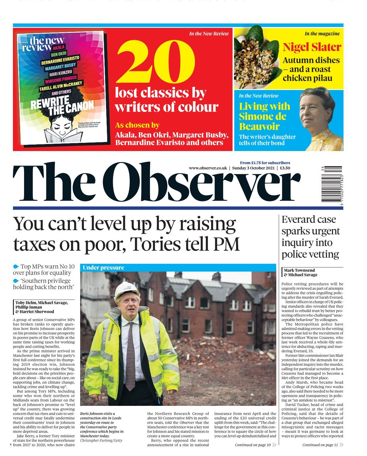 The Observer   20 20 20