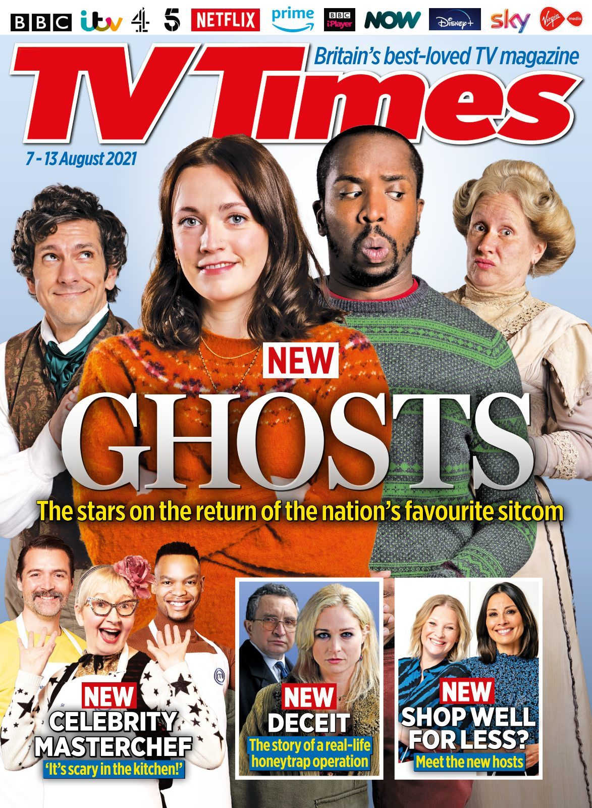 Buried under brunette michele big ass Tv Times Magazine 2021 08 03