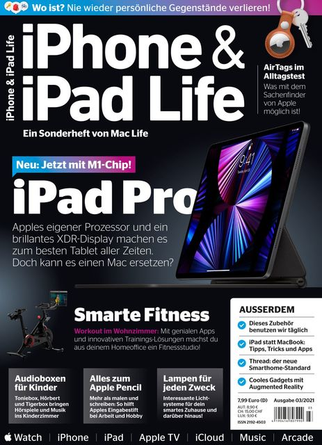 iPhone & iPad Life Ausgabe 03/2021