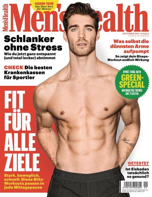 MEN'S HEALTH Ausgabe 09/2021