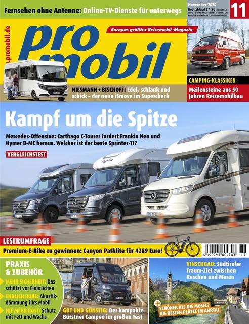 Promobil Ausgabe 11/2020